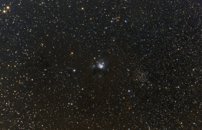 NGC 7129. Telescope: Skywatcher ED80 Camera: QHY8 Exposures: 12x1200 sec bin 1x1 Procsessing: Pixinsight 1.5 Location: Chiliomodi, Corinthia