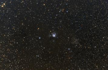 NGC 7129. Telescope: Skywatcher ED80 Camera: QHY8 Exposures: 12x1200 sec bin 1x1 Procsessing: Pixinsight 1.5 Location: Chiliomodi, Corinthia