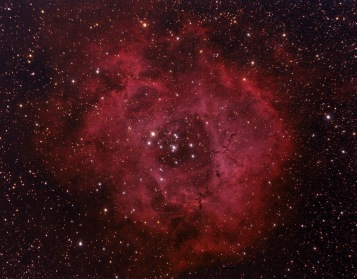 Rosette Nebula. Telescope: ED80 Camera: QHY8 Exposures: 15X1200 sec bin 1x1 Processing: Pixinsight 1.5, Photoshop cs3 Location: Chiliomodi, Corinthia