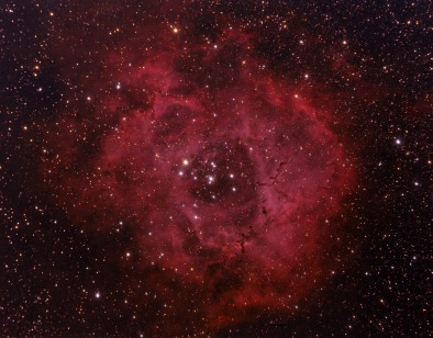 Rosette Nebula. Telescope: ED80 Camera: QHY8 Exposures: 15X1200 sec bin 1x1 Processing: Pixinsight 1.5, Photoshop cs3 Location: Chiliomodi, Corinthia
